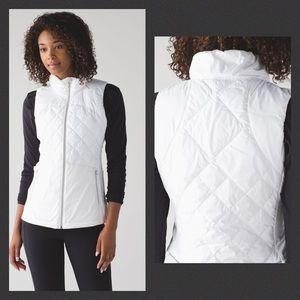 Lululemon Down For A Run Vest White 8